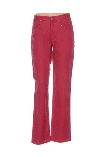 rosa rosam pantalons femme de couleur rose