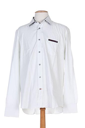 cambe chemises homme de couleur blanc