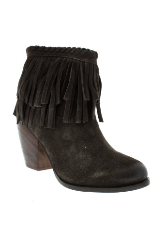 mtng bottines femme de couleur marron
