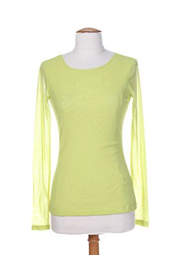 pianurastudio t et shirts et tops femme de couleur vert