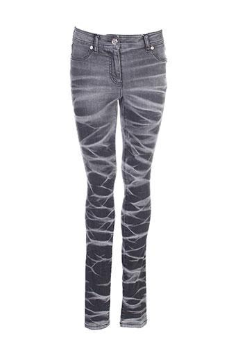 airfield pantalons femme de couleur noir