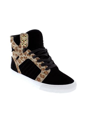 supra chaussures femme de couleur noir