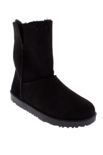 abloom boots femme de couleur noir