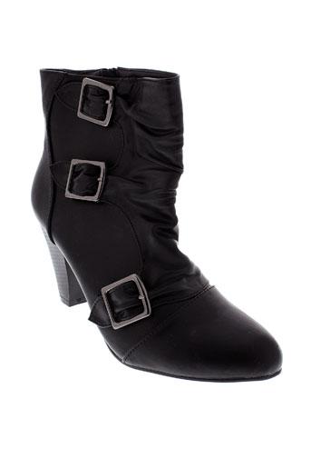 top or chaussures femme de couleur noir