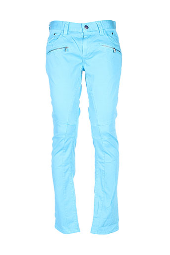 Pantalon casual bleu CIPO & BAXX pour homme