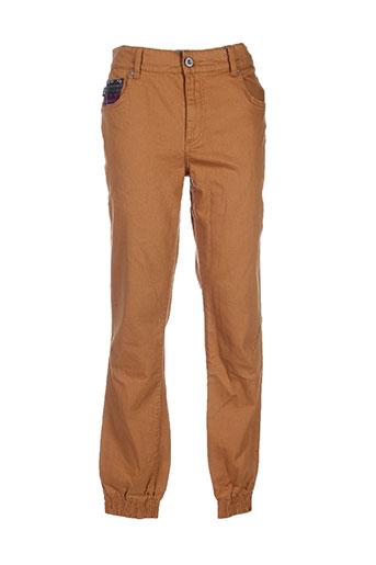 wrung pantalons homme de couleur marron