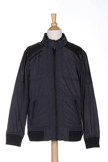 kaporal manteaux garçon de couleur noir