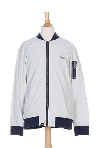 kaporal manteaux garçon de couleur gris