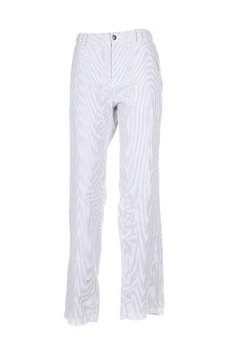 Pantalon casual gris ANTIK KUSTOM pour femme