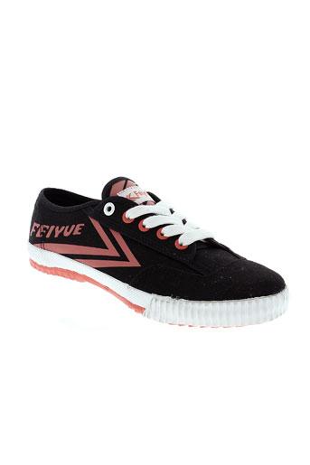 feiyue chaussures garçon de couleur noir
