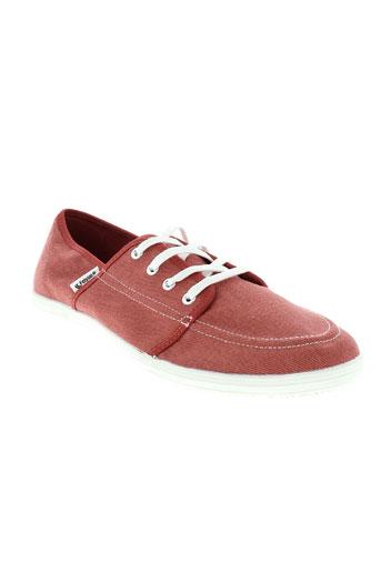 feiyue chaussures homme de couleur orange