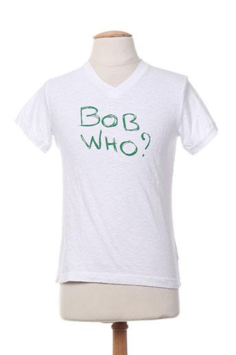 bob sinclar t-shirts femme de couleur blanc