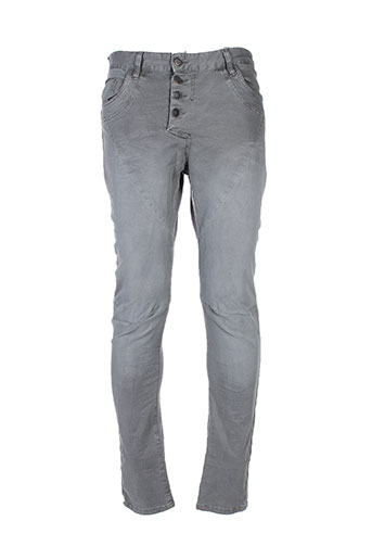 bread and buttons pantalons homme de couleur gris