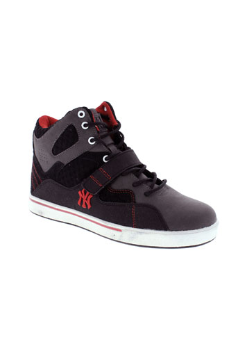 new et york et yankees baskets homme de couleur gris