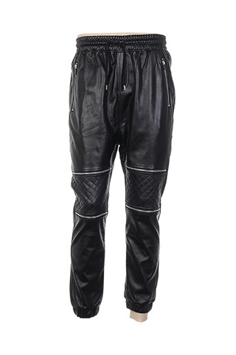 just way pantalons homme de couleur noir