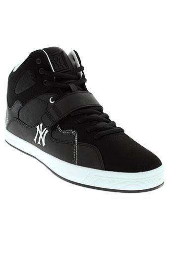 new et york et yankees baskets homme de couleur noir