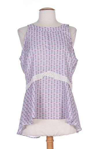 ana sousa chemises femme de couleur violet
