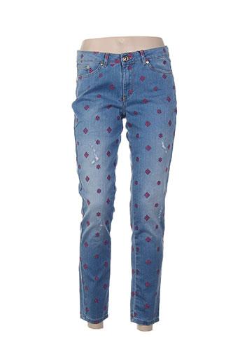 ana sousa jeans femme de couleur bleu