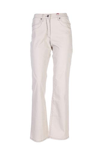jensen pantalons et decontractes femme de couleur beige