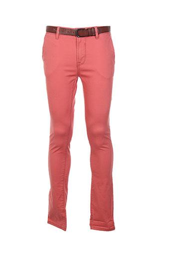 tom tailor pantalons homme de couleur rouge
