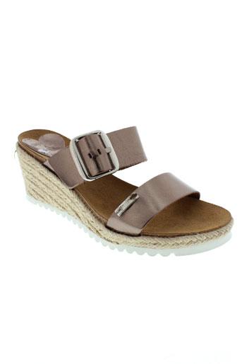 les tropeziennes chaussures femme de couleur beige