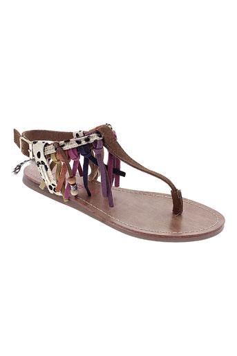 les et tropeziennes sandales et nu et pieds femme de couleur marron