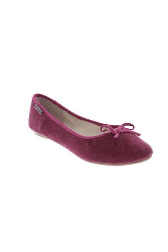 les tropeziennes chaussures femme de couleur rose