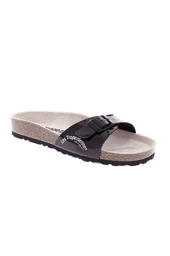 les tropeziennes chaussures femme de couleur noir