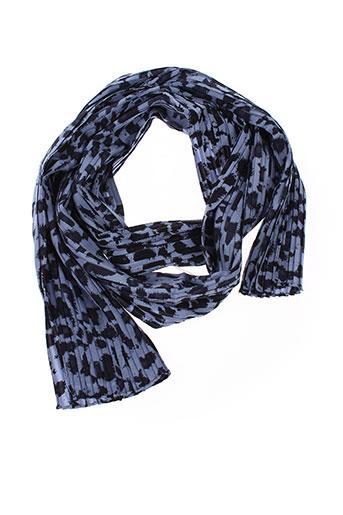 gerard et darel foulards femme de couleur bleu