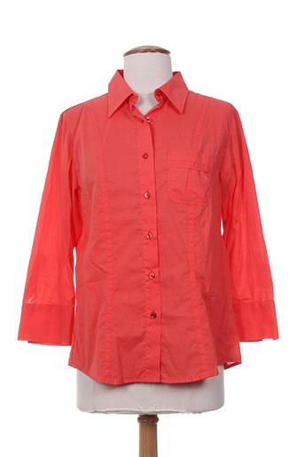 la cible rouge chemises femme de couleur rouge
