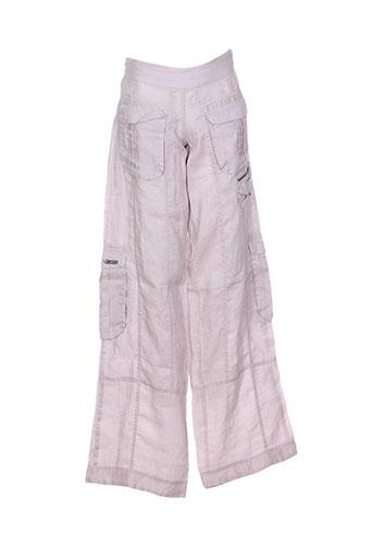 kana beach pantalons femme de couleur rose