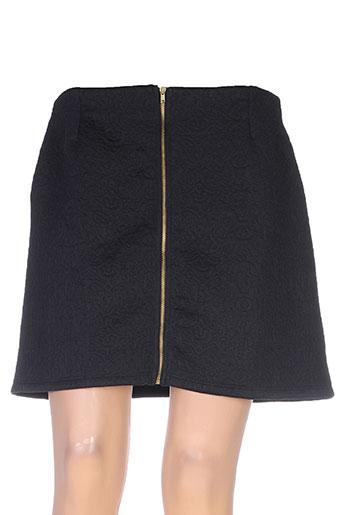 coquelicot jupes femme de couleur noir