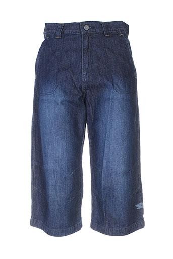 hawk shorts / bermudas homme de couleur bleu