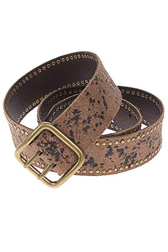 blend ceintures femme de couleur marron
