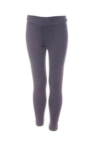 chipie leggings fille de couleur gris