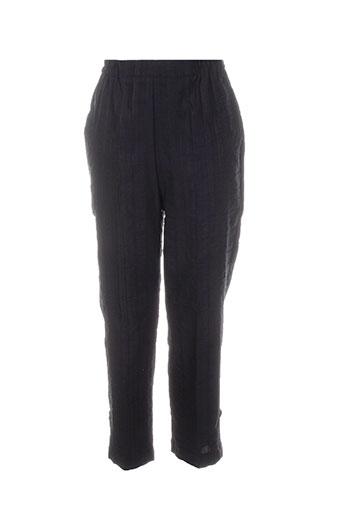 gevana pantacourts femme de couleur noir