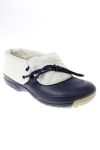 crocs boots homme de couleur bleu