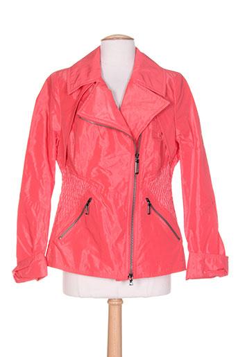 creenstone manteaux femme de couleur orange