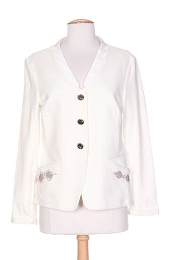 coccapani vestes femme de couleur blanc