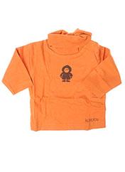 T-shirt manches longues orange LA TRIBBU pour fille seconde vue