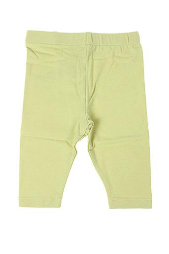 la tribbu pantalons fille de couleur vert