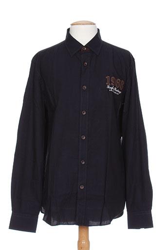 grand chelem chemises homme de couleur noir