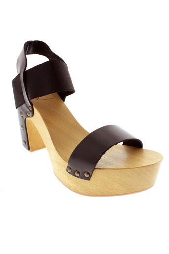 antidoti sandales et nu et pieds femme de couleur noir