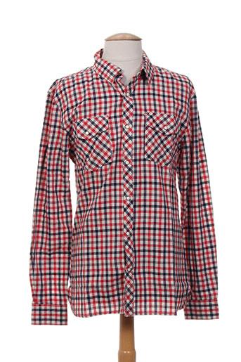 kiliwatch chemises homme de couleur rouge