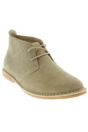 blend chaussures homme de couleur beige