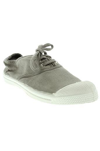 bensimon chaussures enfant de couleur gris