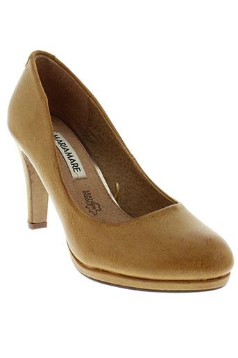 mariamare chaussures femme de couleur marron