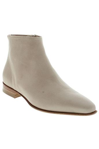 pomme et d et or boots femme de couleur beige