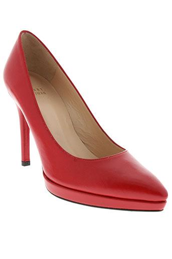 stuart et weitzman escarpins femme de couleur rouge