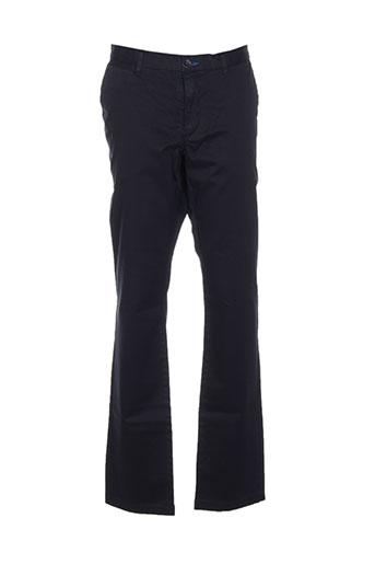 sisley pantalons homme de couleur bleu